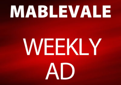 Mablevale February 20-26