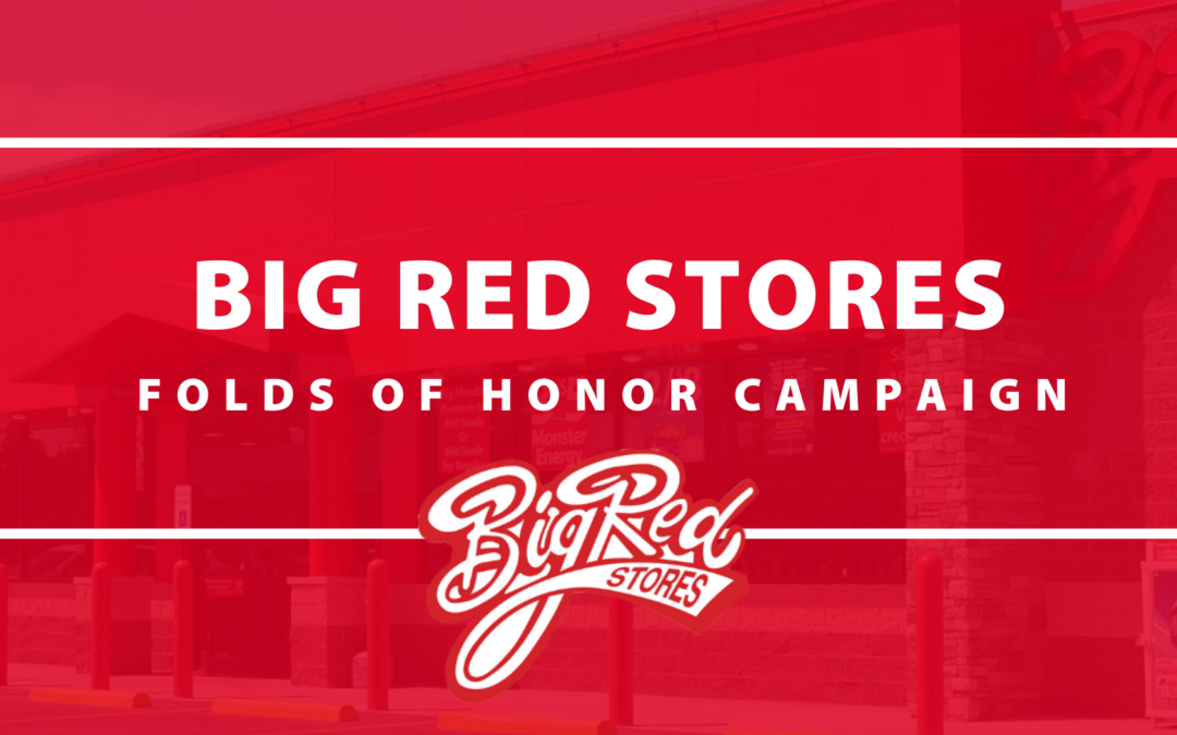 Big Red Stores Partners with Folds of Honor for In-Store Change Campaign in Arkansas